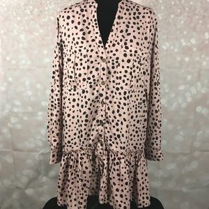 Listicle Leopard Print Dress